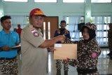 Anggota Tagana Lampung dapat penghargaan