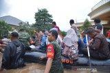Banjir Bekasi  berstatus  tanggap darurat