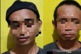 Dua pemuda diduga isap sabu-sabu resmi menjadi tersangka