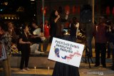 Unjuk rasa terkait perpolitikan Malaysia berlangsung di Dataran Merdeka Kuala Lumpur