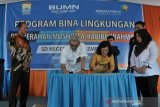 Angkasa Pura II beri bantuan pembangunan musholla Sekolah di Palembang