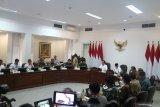 Presiden Jokowi pimpin Rapat Terbatas Pengembangan Pusat Data Nasional