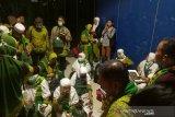 112 jamaah umrah kembali ke Palembang