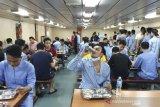 Sebanyak 188 pekerja kapal World Dream masuk area observasi