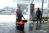 PLN Sulselrabar gelar simulasi peralatan proteksi kebakaran dan teror bom
