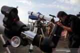 Pemantauan hilal di Makassar