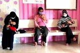 Posyandu Kemala Bhayangkari Polda Kaltara menggelar imunisasi