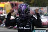Lewis Hamilton kalahkan Verstappen di GP Spanyol