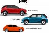 HSR Wheels meluncurkan velg untuk Ricky, Raize dan City Hatcback