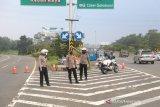 Gerbang Tol Baranangsiang Bogor ditutup sementara