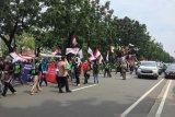 Ratusan personel gabungan jaga kawasan Kedubes AS di Jakarta