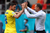 Striker timnas Ukraina Roman Yaremchuk pindah ke Benfica dalam banderol 17 juta euro
