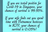 Catatan Ilham Bintang -  Berkaca kasus Singapura dikacau satu wanita, hati-hati longgarkan PPKM