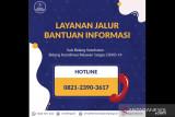 Satgas luncurkan hotline 082123903617 informasi ketersediaan kamar rumah sakit