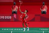 Olimpiade Tokyo -Ginting amankan kemenangan pertama di penyisihan Grup J