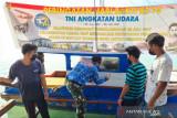 Peduli COVID -19 Lanud RSA bantu cat kapal nelayan