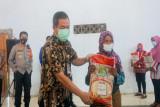 1.050 ton beras bantuan PPKM dibagikan di Kabupaten Semarang