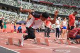 Sprinter Zohri manfaatkan waktu beradaptasi dengan arena perlombaan