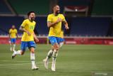 Olimpiade Tokyo - Brazil lolos ke semifinal setelah menang tipis 1-0 atas Mesir