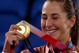 Olimpiade Tokyo - Emas tenis tunggal putri jadi milik Belinda Bencic