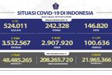 Penerima vaksin COVID-19 dosis lengkap di Indonesia capai 22,2 juta orang