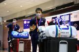Olimpiade Tokyo - Jet tempur kawal kepulangan tim bulu tangkis Taiwan