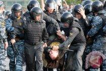 Ribuan warga Rusia unjuk rasa atas penahanan gubernur Sergei Furgal