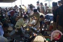 Warga lereng Merapi ikuti upacara tradisi sadranan