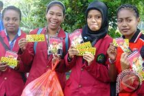 Beranda/Papua - Mahasiswa IISIP Yapis ikuti lokakarya jurnalistik