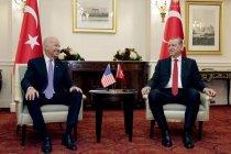 Cek Fakta: Erdogan cium tangan Joe Biden?