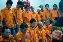 Polisi ringkus lima pelaku curat mini market