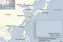 Kapal Jepang dan China tabrakan di Laut China Timur