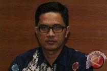 KPK tahan satu tersangka suap DPRD Sumut