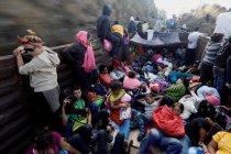 Pengungsi Amerika Tengah terhenti di perbatasan Meksiko-AS
