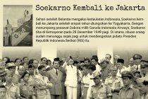 Sejarah Kemerdekaan: Soekarno Kembali ke Jakarta (1949)