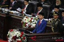 Pidato lengkap Presiden Joko Widodo pada Sidang Tahunan MPR 2018