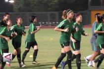 Timnas Sepakbola putri siap amankan satu tiket putaran II