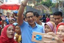 Sandiaga kunjungi perayaan kemerdekaan di Jalan Jaksa