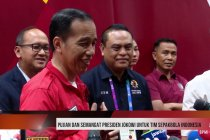 Pujian dan semangat Presiden Jokowi untuk Tim sepakbola Indonesia