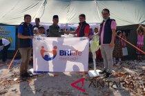 BRI Life bantu korban gempa Lombok