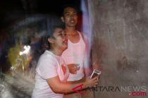 Warga berlarian saat gempa 7 SR kembali guncang Lombok