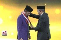 Presiden terima anugerah tokoh pemerataan pembangunan