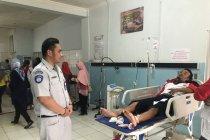 Jasa Raharja gerak cepat berikan santunan kepada korban kecelakaan bus pariwisata di Sukabumi