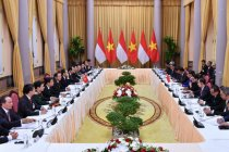 Momen terakhir Presiden Tran Dai Quang bersama Presiden Jokowi