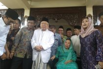 Ma\'ruf Amin harapkan dukungan keluarga Gus Dur