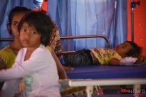 Pengungsi Gempa Lombok Terserang Diare dan ISPA