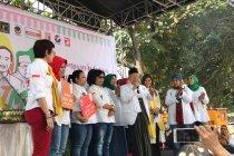 Relawan perempuan Jokowi-Ma\'ruf deklarasi dukungan