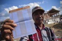 Bantuan dana perbaikan rumah korban gempa di Mataram sudah cair