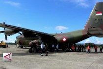 TNI AU kirim 5 ton bantuan warga Papua ke Sulteng