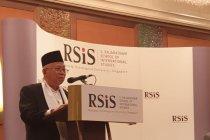 Ma\'ruf Amin bicara Islam moderat di Singapura